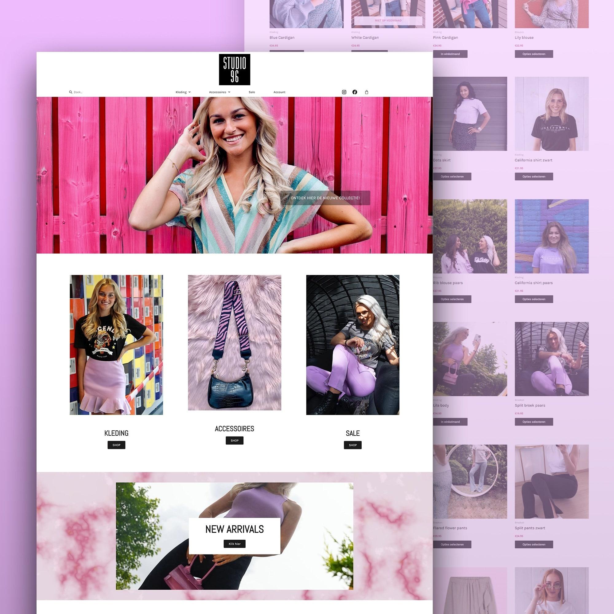 Studio 96 webshop