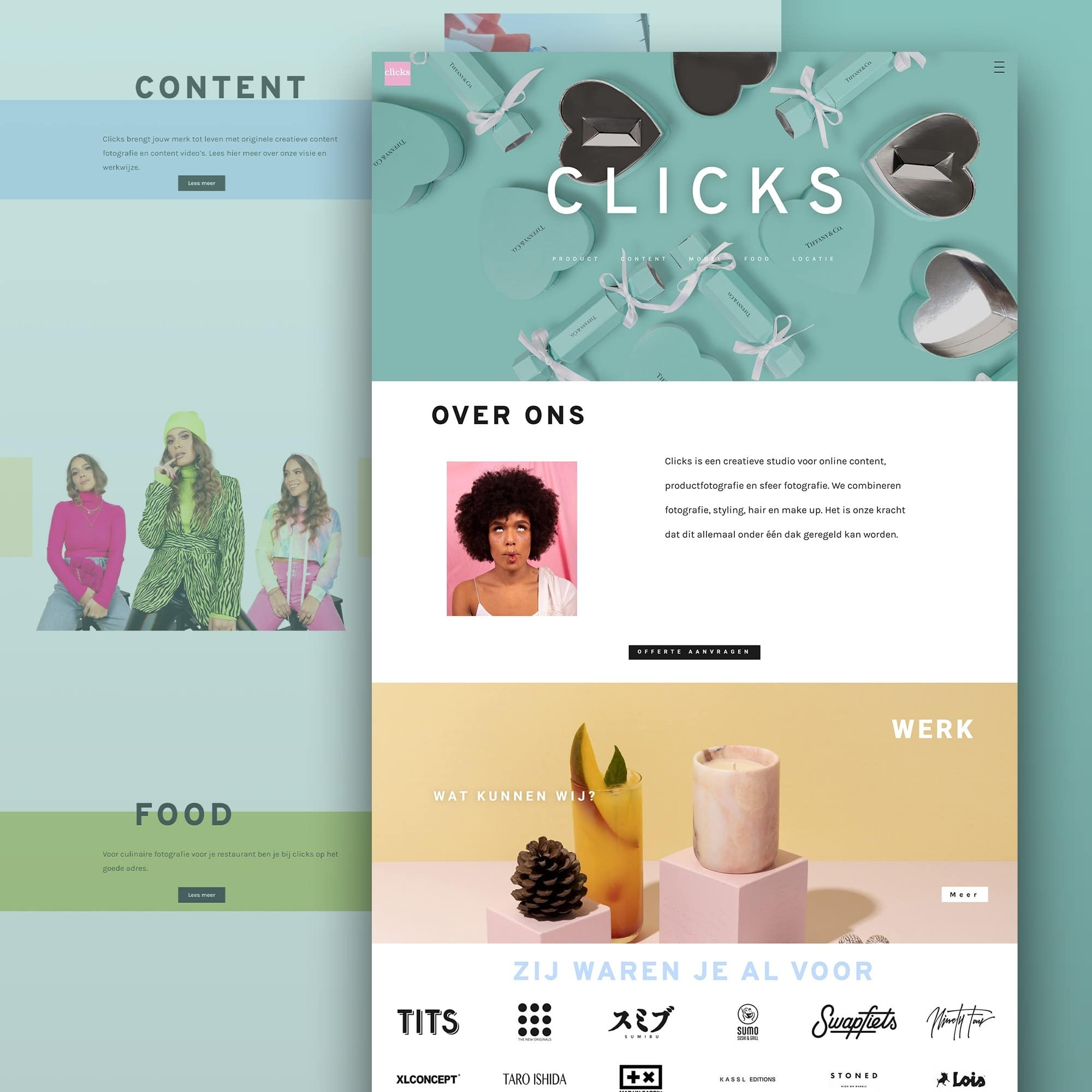 Clicks Amsterdam website